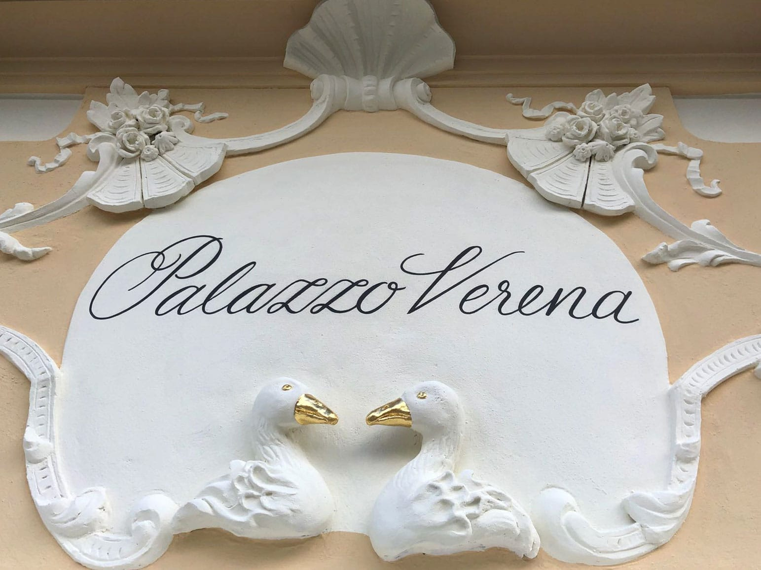 Palazzo Verena Fassade Detail