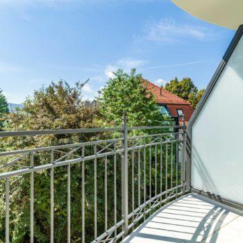Garten Suite - Balkon