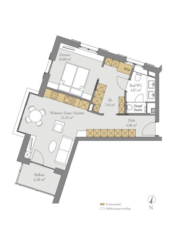 Stadt Suite - Grundriss